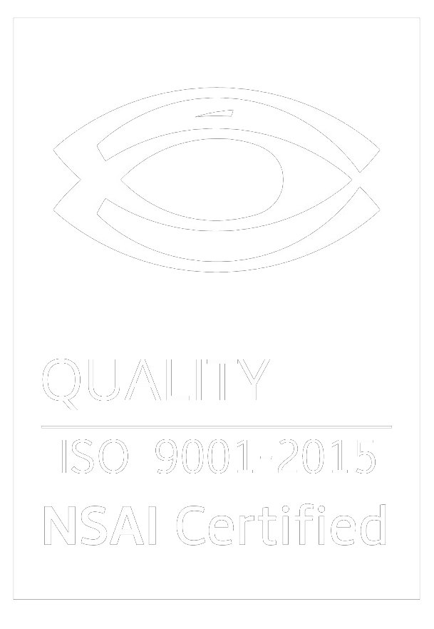 Quality ISO 9001 2015 NSA certified logo