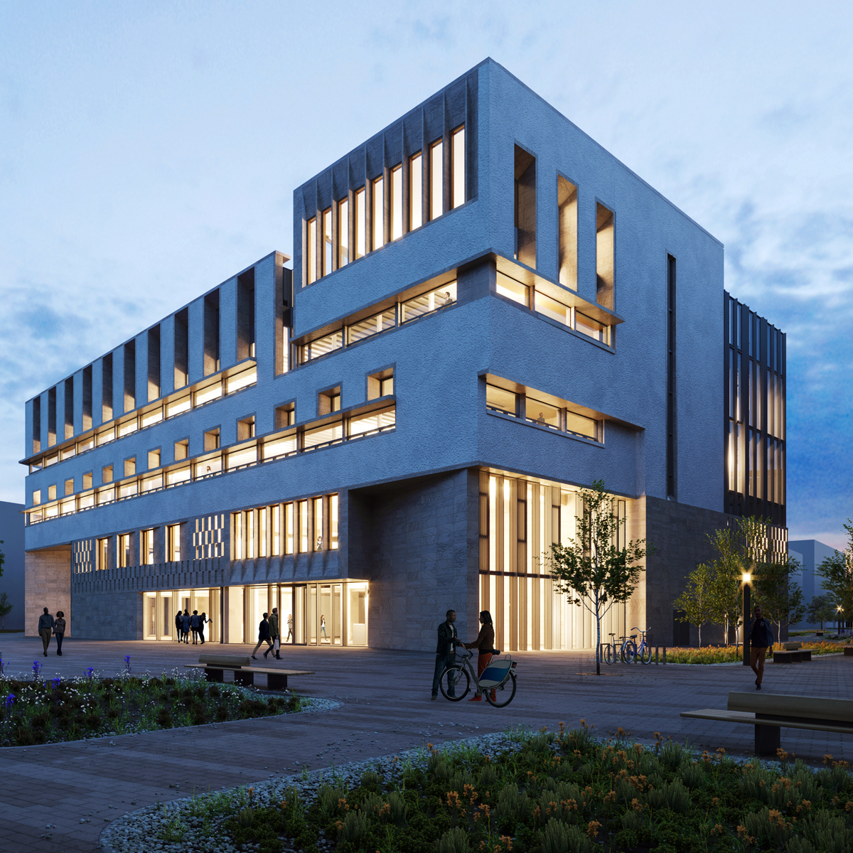 Duke McCaffrey Academic Hub project